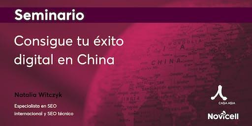 Seminario:  Éxito digital en China