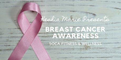 Soca Fitness & Wellness : Breast Cancer Awareness Month tickets