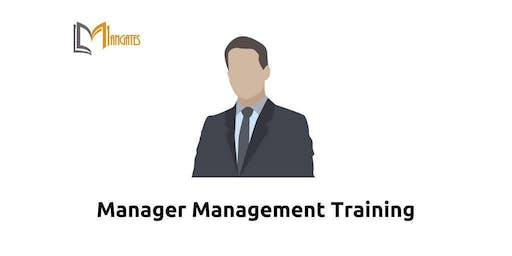 Manager Management 1 Day Virtual Live Training in Eindhoven