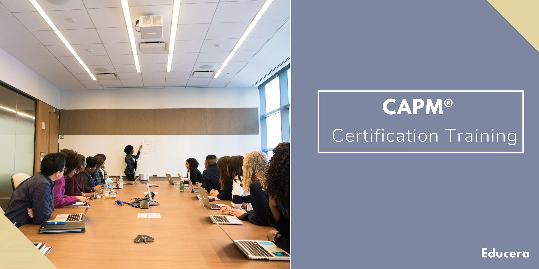 CAPM Certification Training in Laval, PE