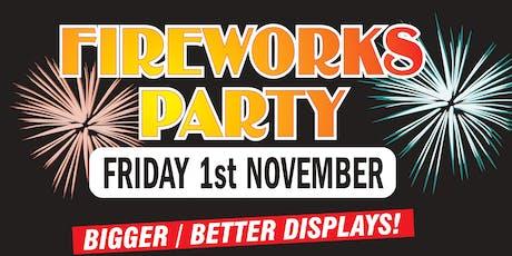 Cheltenham Cricket Club Fireworks Party! tickets