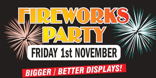 Cheltenham Cricket Club Fireworks Party!