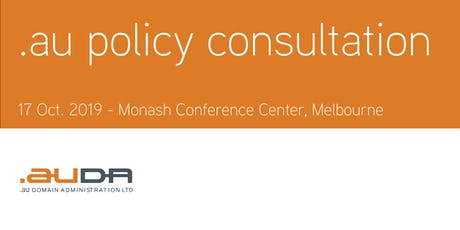 .au Policy Consultation October 2019 - Melbourne tickets