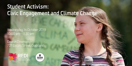 Student Activism: Civic Engagement and Climate Change tickets