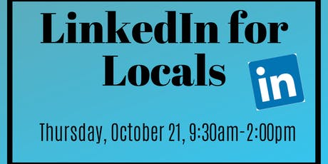 LinkedIn for Locals Training Program tickets