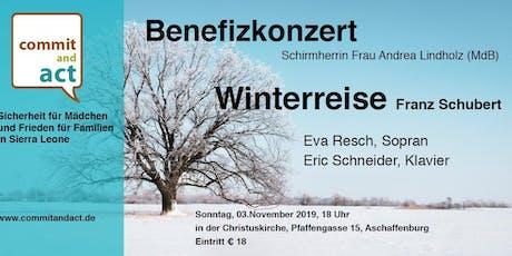 Benefizkonzert 2019, Winterreise von Franz Schubert mit Eva Resch, Sopran Tickets