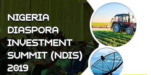 Nigeria Diaspora Investment Summit (NDIS) 2019