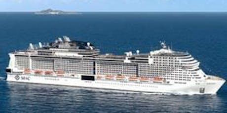 Einladung zur Schiffstaufe der MSC Grandiosa im Hamburger Hafen Tickets