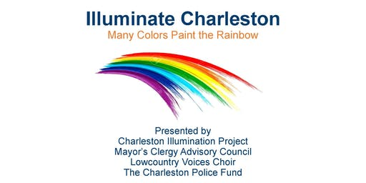 Illuminate Charleston: Many Colors Paint the Rainbow