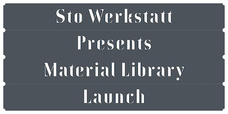 Sto Werkstatt Presents Material Library Launch tickets