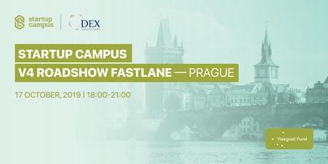 Startup campus V4 roadshow - Prague tickets