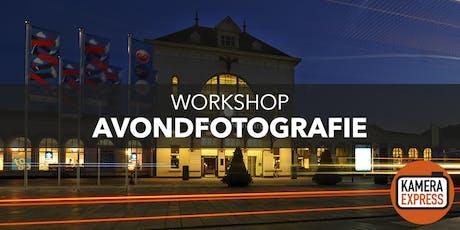 Workshop Avondfotografie in Leeuwarden tickets