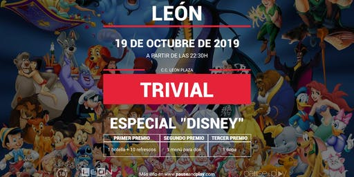 Trivial Especial Disney en Pause&Play León Plaza