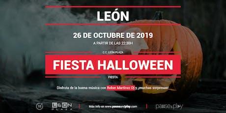 Fiesta Halloween en Pause&Play León Plaza entradas
