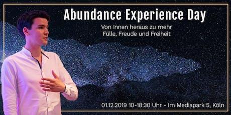 Abundance Experience Day - Von Innen heraus zu mehr Fülle und Freiheit Tickets