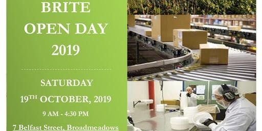 Brite Open day ( 19th October 2019)