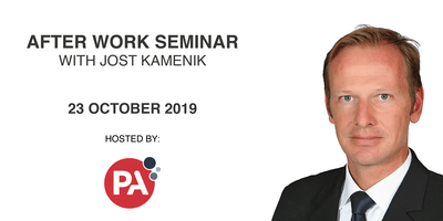 Evening Seminar with Jost Kamenik at PA Consulting