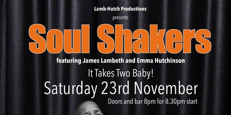 Soul Shakers: It Takes Two, Baby! tickets