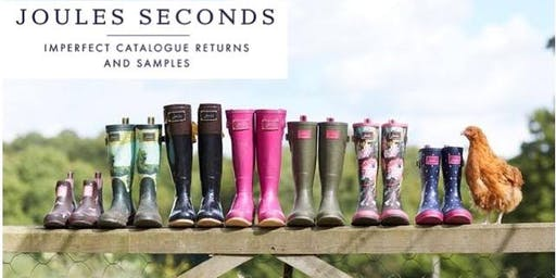 Joules Seconds Sale - Oswestry. Tuesday 22nd October 2019 - PREVIEW TICKETS 6PM