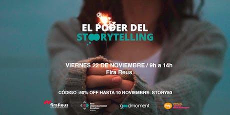 El Poder del Storytelling entradas