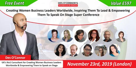 Free Des OConnors Women in Business Conference tickets