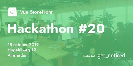 Vue Storefront Hackathon Amsterdam (Second Edition) tickets