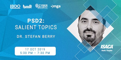 [Educational Event] PSD2: Salient Topics by Dr. Stefan Berry