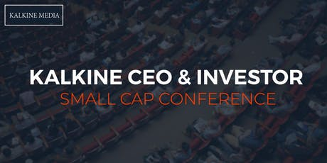 Kalkine CEO & Investor Small Cap Conference 2019 tickets