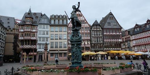 """Fr,29.11.19 Wanderdate """"Single Wandern Frankfurt zur Kneipentour mit Weihnachtsmarkt für 40-65J"""""""