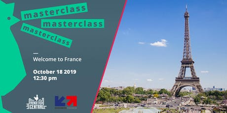 Masterclass Welcome to France with @Business France billets