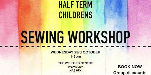Half Term Sewing Workshop