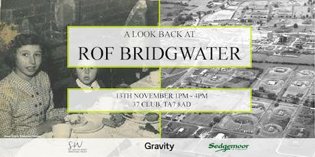 A look back at ROF Bridgwater - Wed 13th Nov tickets