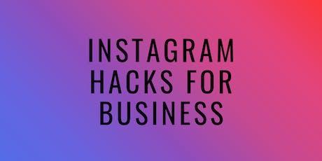 Instagram Hacks for Business tickets