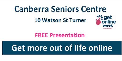 Get Online at Canberra Seniors Centre