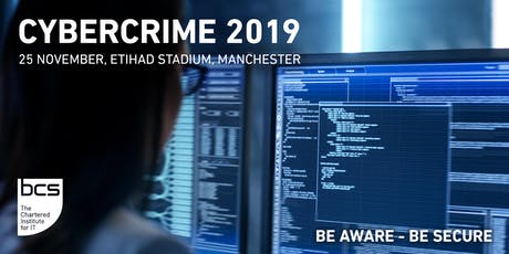 Cybercrime 2019 tickets