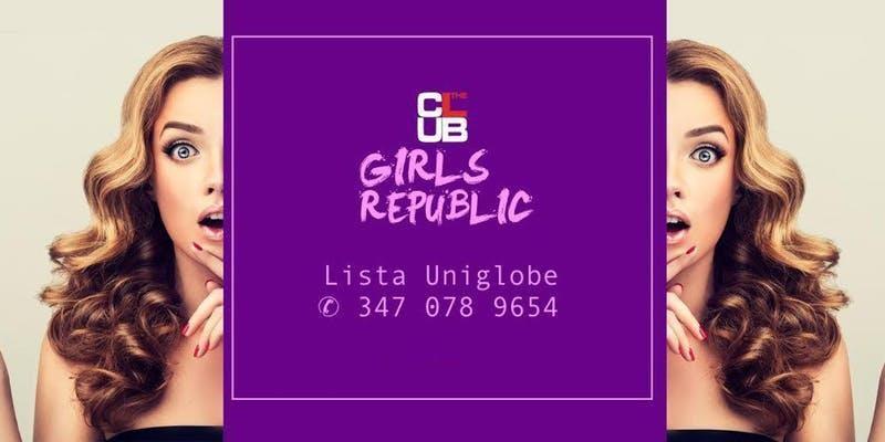 Every Saturday I The Club I Lista Uniglobe I ✆ 347 0789654