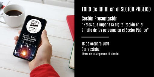 Sesión de Presentación en Madrid del Foro de RRHH del Sector Público