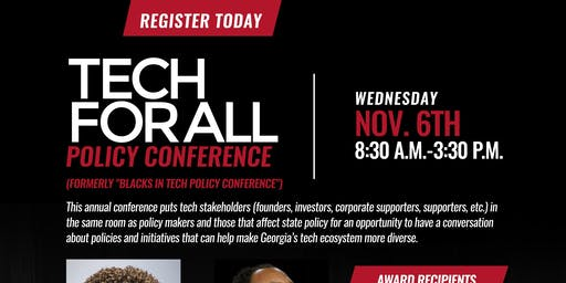 3rd Annual Tech for All Policy Conference