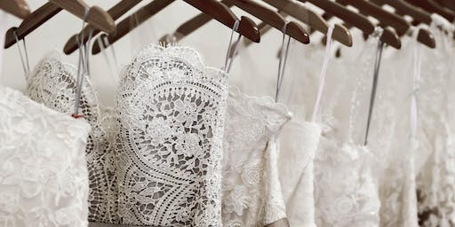 Wedding dress sample sale with Bridal Indulgence & Tilly Mint