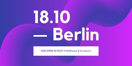 UNICORNS IN TECH meets McKinsey & Company Tickets