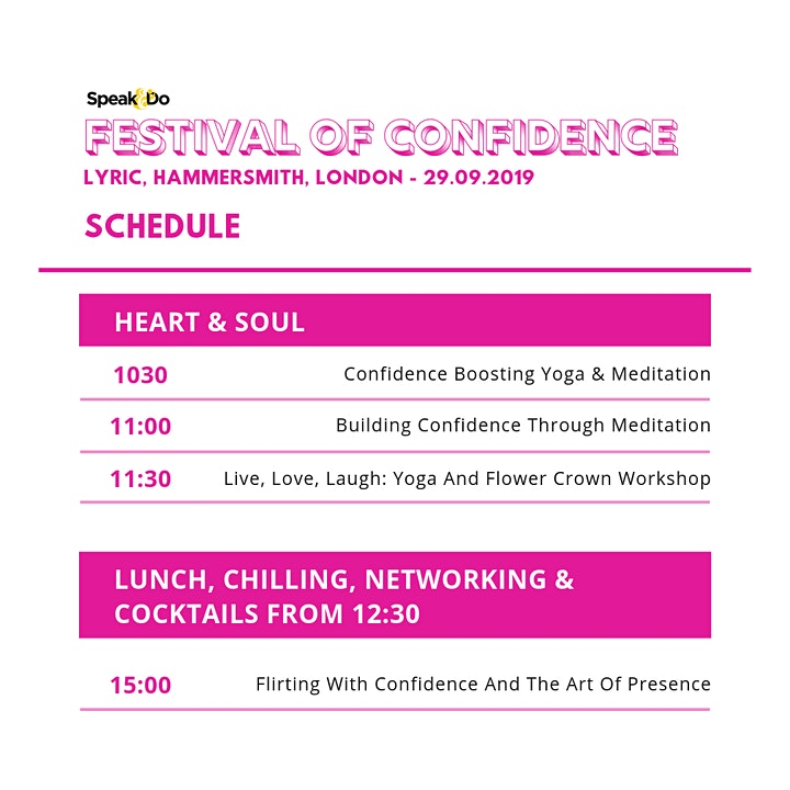 Festival of Confidence image