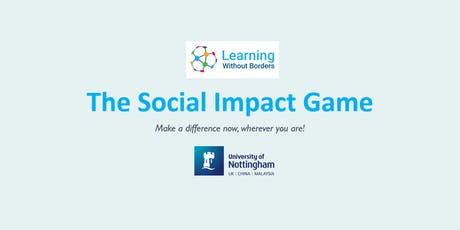 Join the Social impact Game! tickets