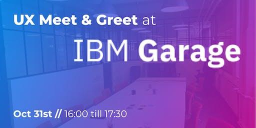 UX Meet & Greet at IBM Garage