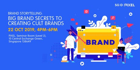 Brand Storytelling: Big Brand Secrets to Creating Cult Brands tickets