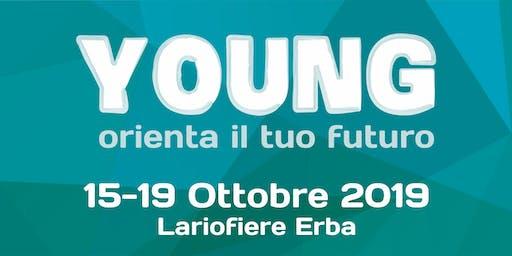 YOUNG - Sabato 19 Ottobre - Convegno: Alta formazione post diploma: ITS come risposta alle nuove professioni