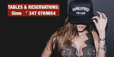 Every Friday I The Club I Lista Uniglobe I ✆ 347 0789654 biglietti