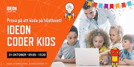 Ideon Coder Kids - Kom och koda under höstlovet! tickets