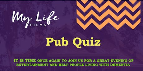 My Life Films Pub Quiz October 2019 tickets