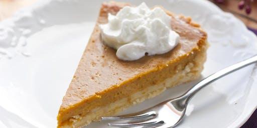 Sourdough Pumpkin Pie with Fido Fermented Filling