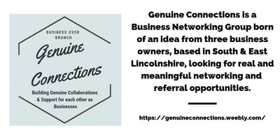 Genuine Connections Networking - Business Over Brunch (Boston UK)